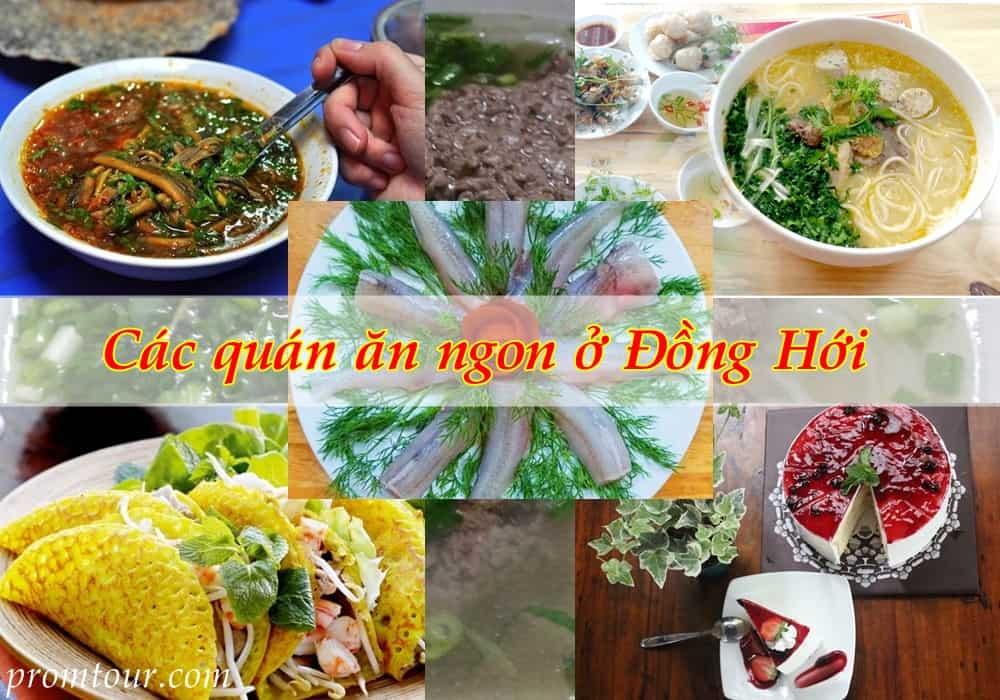 Các quán ăn ngon ở Đồng Hới Quảng Bình