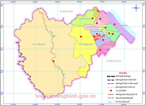 Thông tin về huyện Quảng Ninh