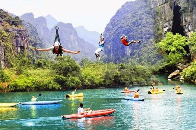 9 tuyến du lịch mạo hiểm ở Phong Nha Kẻ Bàng