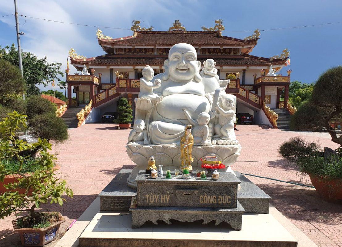 Chùa Đại Giác - Ngôi chùa lớn nhất ở Quảng Bình