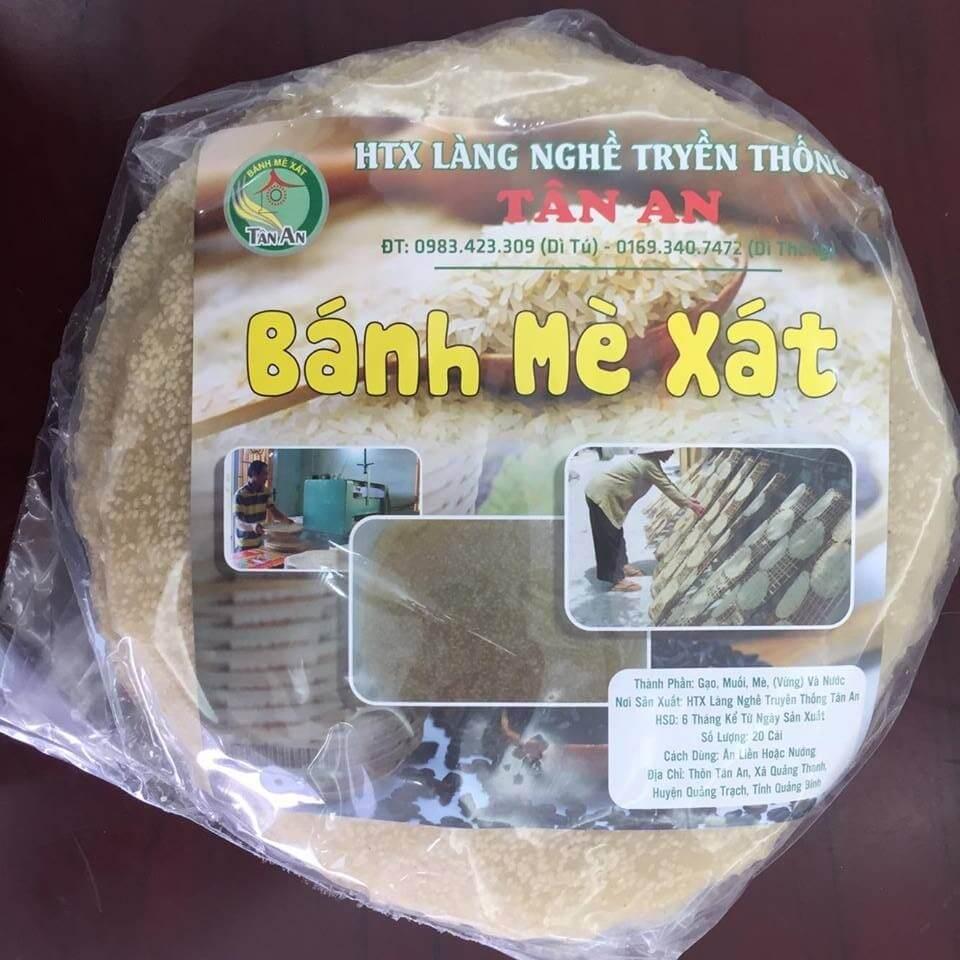 Bánh tráng Tân An - Quảng Trạch Quảng Bình