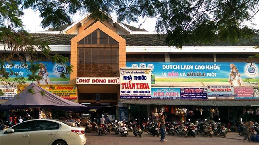 Chợ Đồng Hới - Chợ đầu mối hải sản lớn nhất Đồng Hới Quảng Bình