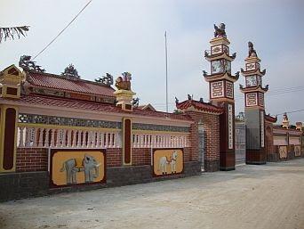 Đình làng Thuận Bài - Quảng Trạch Quảng Bình