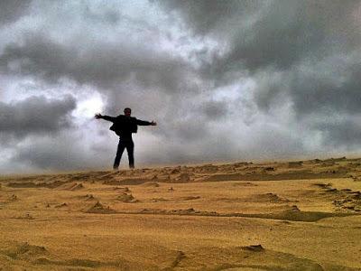 Đồi cát bay ở Quảng Bình