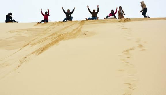 Đồi cát Quang Phú - Đồng Hới Quảng Bình