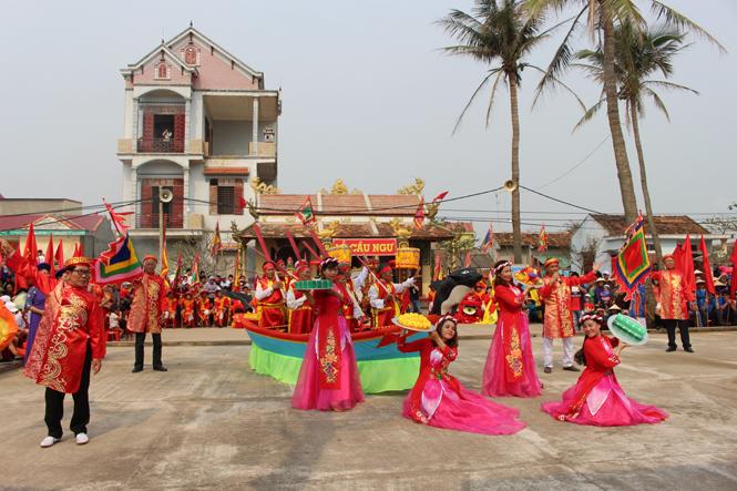 Lễ hội cầu ngư Cảnh Dương Quảng Bình